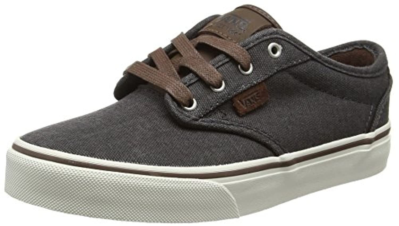 Vans Unisex Kids' Atwood Deluxe Low-Top Sneakers, Grey (T&L Chestnut/Marshmallow), 1 UK