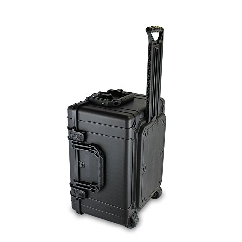 Condition 1 25'' XL #286 Black Rolling Travel Hard Case Trunk with DIY Customizable Foam