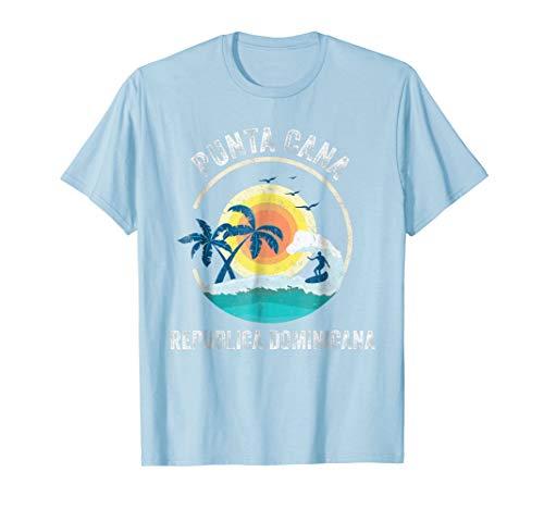(Punta Cana, Dominican Republic Souvenir Vintage T-shirt)