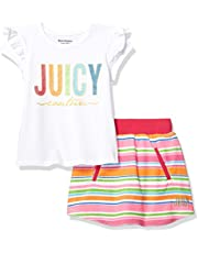 Juicy Couture Girls' 2 Pieces Scooter Set