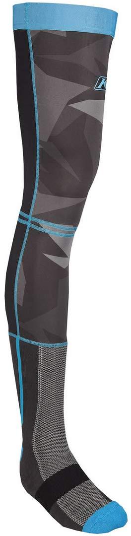 Klim Aggressor Cool 1.0 Knee Brace Socks (MEDIUM) (BLUE CAMO) by KLIM