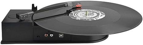Digitnow! Disco de placa giratoria portátil de mini USB del vinilo ...