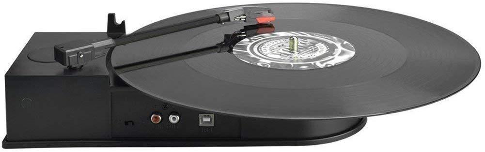 DIGITNOW! USB Adaptador de Tocadiscos Plato giradiscos Plato Vinilo para la conversión Digital de LP Audio - Soporta Windows / Mac