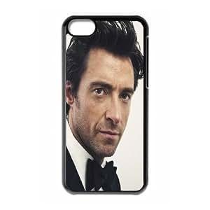 iPhone 5c Cell Phone Case Black Hugh Jackman D8E6JV