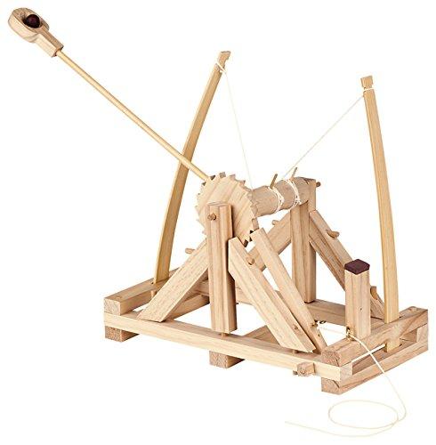 Echtes Werkzeug für Kinder - Echtes Kinderwerkzeug - Bausatz Kinder - moses Bausatz da Vincis Katapult