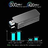 SSD External,128 GB High Speed Flash Drive