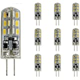 Lights Bulbs, 1.5W G4 LED Bi-pin Lights Tube 24 SMD 3014 100