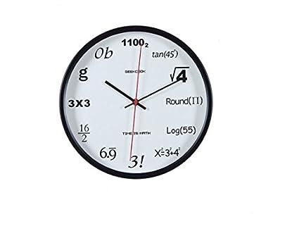 Reloj Digital reloj de metal diseño habitación Oficina mudo moderno reloj de moda,30.5cm