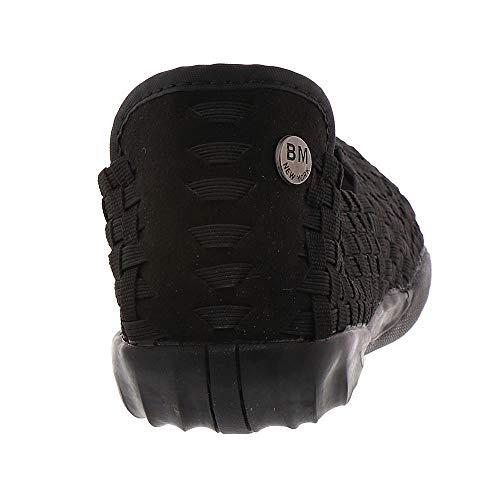 On Open Bernie Slip Black Women's Shoes Toe Mev Flats Dream 7SqI6xH