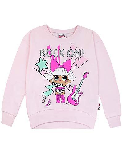 (LOL Surprise! Rock On Girls Sweatshirt (4-5 Years) Pink)