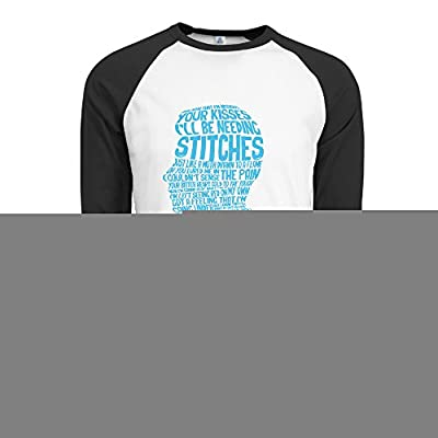 Man Shawn Mendes Stitches 100 Cotton Baseball Shirts