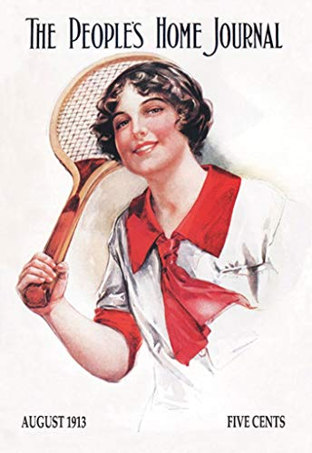 (Buyenlarge Tennis Star The People's Home Journal August 1913 Wall Decal, 24