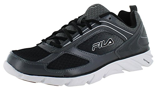 Fila Stride 3 Men's Running Shoes Athletic Sneakers Gray Size 10.5