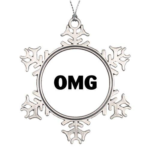 Acove What Texting Tree Decorating Ideas Snowflake Ornaments Gold Christmas Snowflake Ornaments 3 inch]()