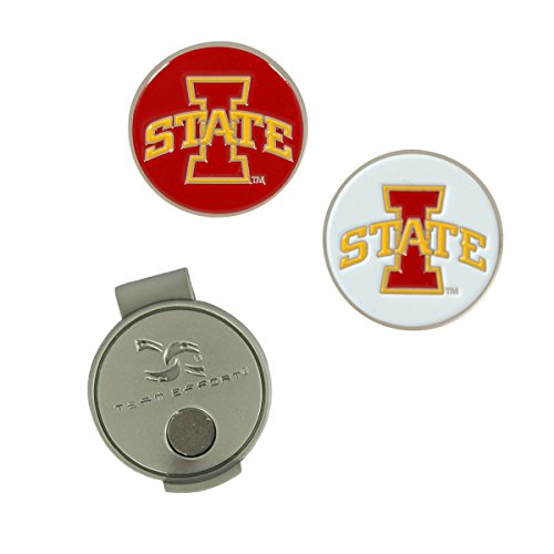Team Effort Iowa State Cyclones Hat Clip & 2 Ball Markers