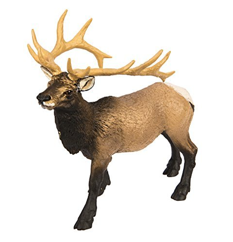 Safari Ltd  Wild Safari North American Wildlife Elk Bull