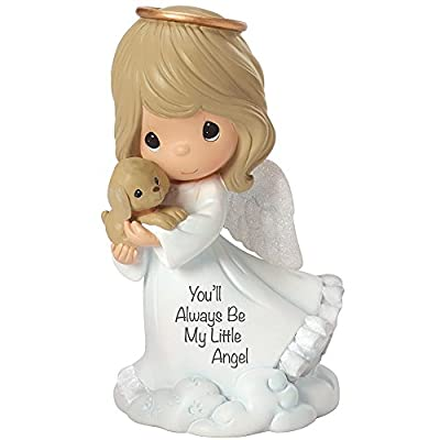 "Precious Moments, Religious Gifts, ""You'll Always Be My Little Angel"" , Resin Figurine, #153408"