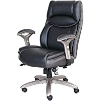 Serta Smart Layers Jennings Big and Tall Bonded Leather High-Back Executive Chair