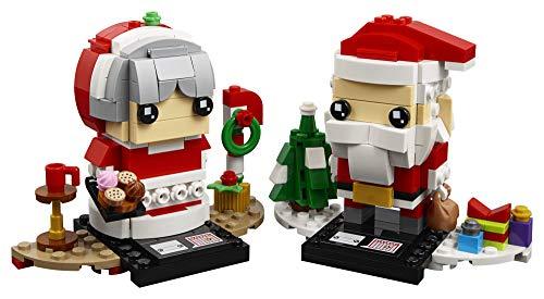 LEGO BrickHeadz Mr. + Mrs. Claus