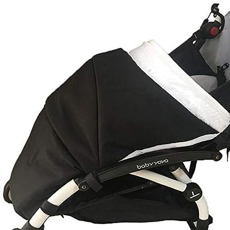 Saco para cochecito largo/cobertura para pie/protección contra la lluvia y viento -