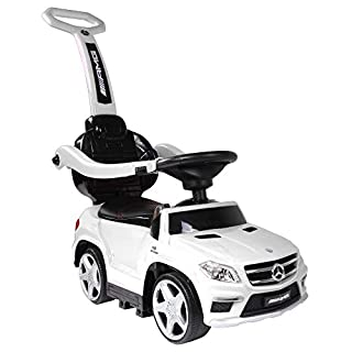 Best Ride On Cars 4 in 1 Mercedes PC White, One Size