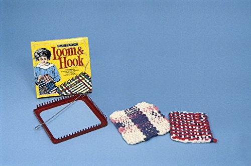 Hand Weaving Loom & Hook (Weaving Plastic Loom)