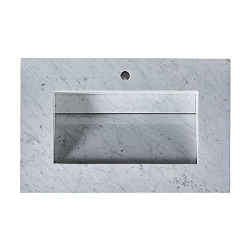 Silkroad Exclusive T0136WRC Bathroom Sink Top, 36