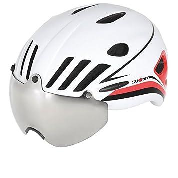 SUOMY Casco Strada Vision blanco/rojo Talla L (Cascos MTB y carretera))