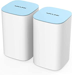 WAVLINK AC3000 Tri-Band Whole Home WiFi Mesh System MU-MIMO Parental Controls with Touchlink 2-Pack