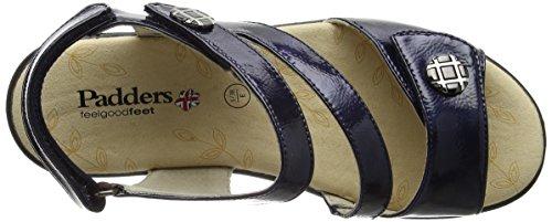 Padders Vienna - Sandalias de tobillo Mujer Blue (Navy Patent)