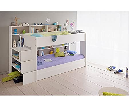 Parisot Etagenbett Bauanleitung : Parisot etagenbett bibop 90x200cm weiß: amazon.de: küche & haushalt
