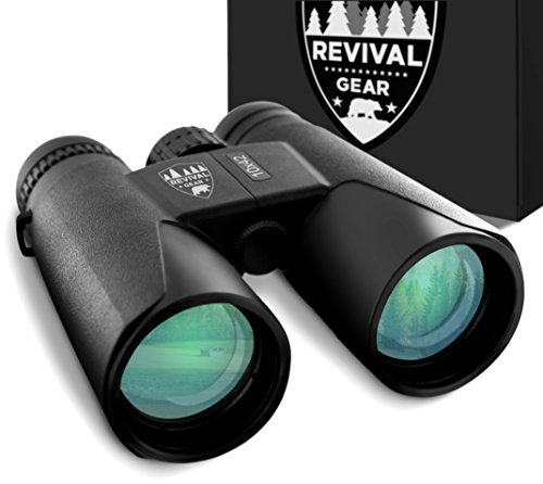 E Tronic Edge Binoculars for Adults - Professional Binoculars for Bird Watching, Hunting, Hiking & Travel - Compact Binoculars for Men and Women - Strap and Case Included