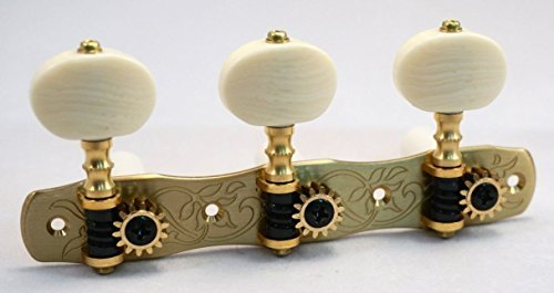 Gotoh Japan Classical Guitar Tuners 35G1800-2M Machine Heads Solid Brass with Ivoroid Buttons [並行輸入品]   B07FDN3VHQ