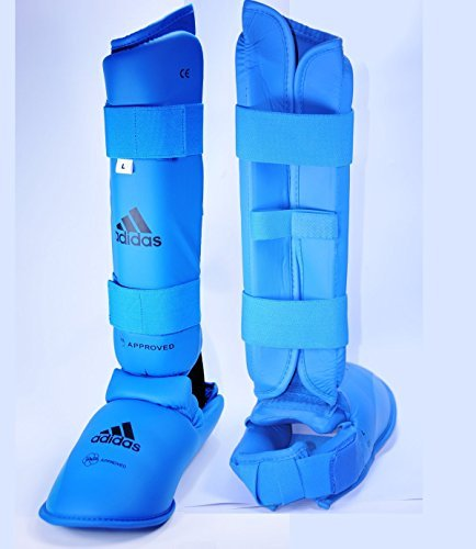 adidas-WKF-Shin-and-Instep-Blue