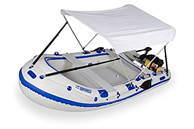 Wide Bimini Top (Cover, Sunbrella) for Inflatable Boats, Pontoons [Sea Eagle] detail review