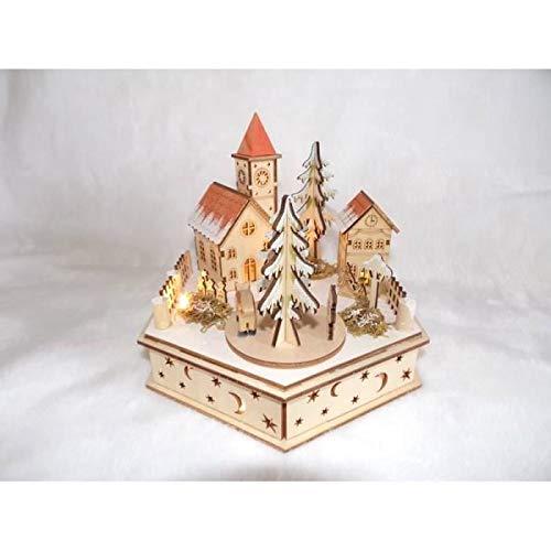 Musicbox Kingdom 57052 Wooden Music Box Winter