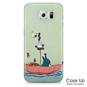 My Neighbor Totoro Snap On Hard Phone Skin Cover Case for Samsung Galaxy S6 SM-G920, G920P, G920V, G920R, G920T, G920W8 - S6TO13