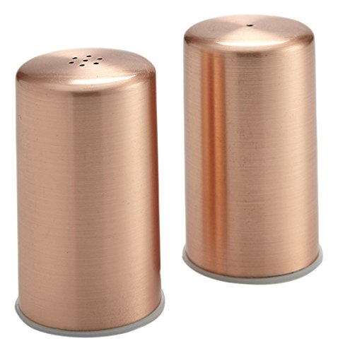 (American Metalcraft CSP2 Salt and Pepper Shaker Set, Copper, 2oz. Capacity, 6-1/4