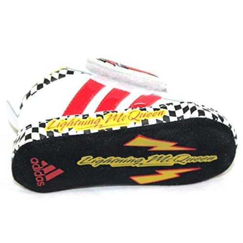 more photos 5c4e5 70ba1 Nuevo g46480 Adidas Disney Cars 2 Crib gr. 17 Guantes Blanco infantil