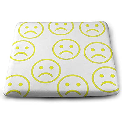Sanghing Customized Fashion Emijo Face 1.18 X 15 X 13.7 in Cushion, Suitable for Home Office Dining Chair Cushion, Indoor and Outdoor Cushion.: Home & Kitchen