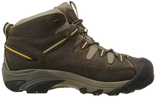 KEEN Men's Targhee II Mid Waterproof Hiking Boot,Black...