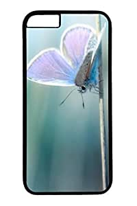 Beautiful Blue Butterfly Slim Hard For SamSung Galaxy S5 Case Cover Case PC Black Cases
