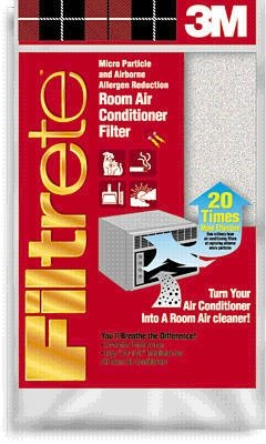 3M Filtrete Air Conditioner Filter, 15-Inch by 24-Inch