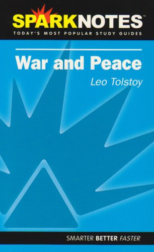 War and Peace (SparkNotes Literature Guide) (SparkNotes Literature Guide Series)