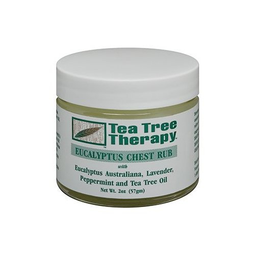 Tea Tree Therapy Eucaliptus Chest Rub, 2 Ounce (Pack of 6)…