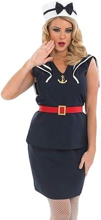 Mujer sexy 1940s años Pin Up Marinière – Fuerzas Armadas ...