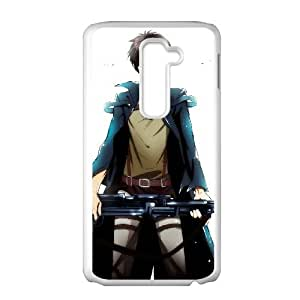 Attack On Titan LG G2 Cell Phone Case White Customized Toy pxf005_9705978