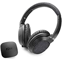 MEE audio CMB-T1H2-MEE Over-Ear Wireless Bluetooth Headphones with Mic and MEE Audio Connect (Black)