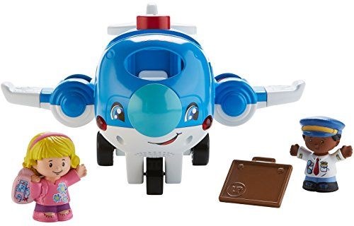 41SQBpcxq5L - Fisher-Price Little People Travel Together Airplane Vehicle