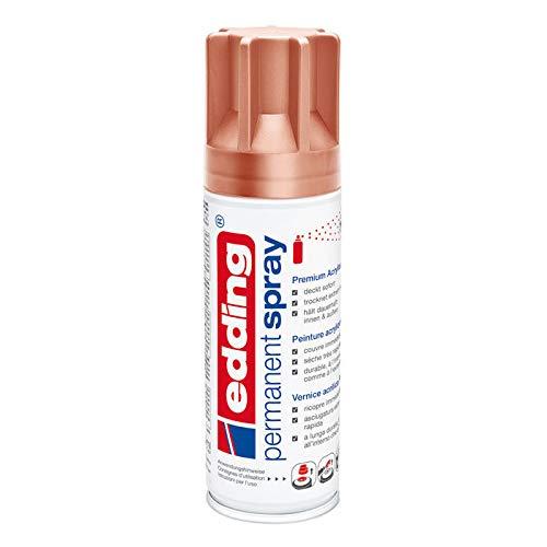 CREATIV DISCOUNT® NEU Edding Permanent Spray 200ml Kupfer Seidenmatt CREATIV DISCOUNT®